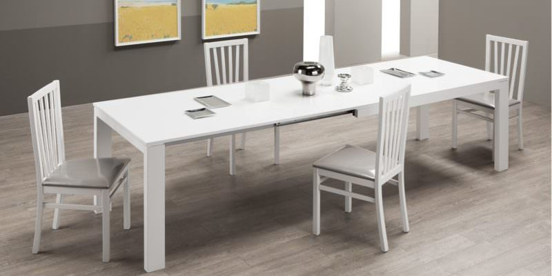 tavoli allungabili moderni outlet